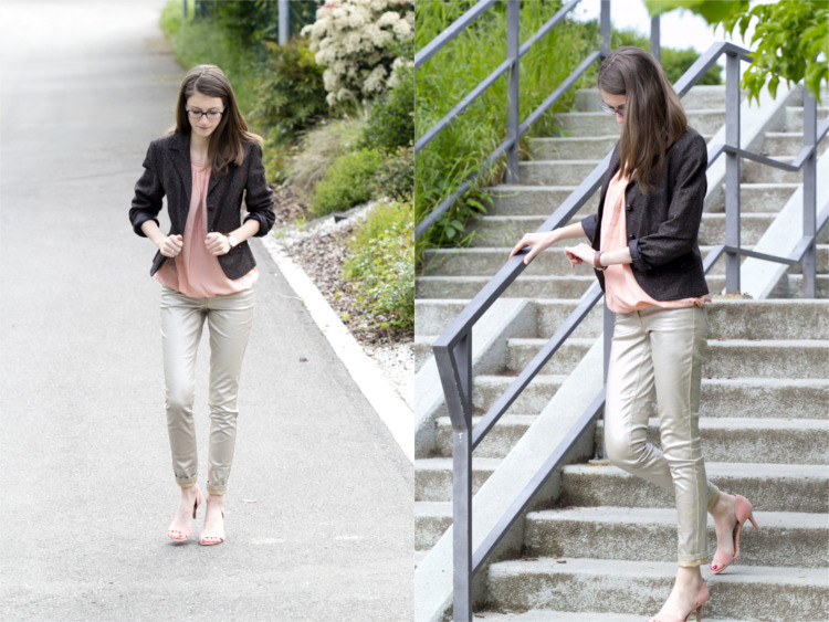 Second Hand Blazer Sommer Outfit 1