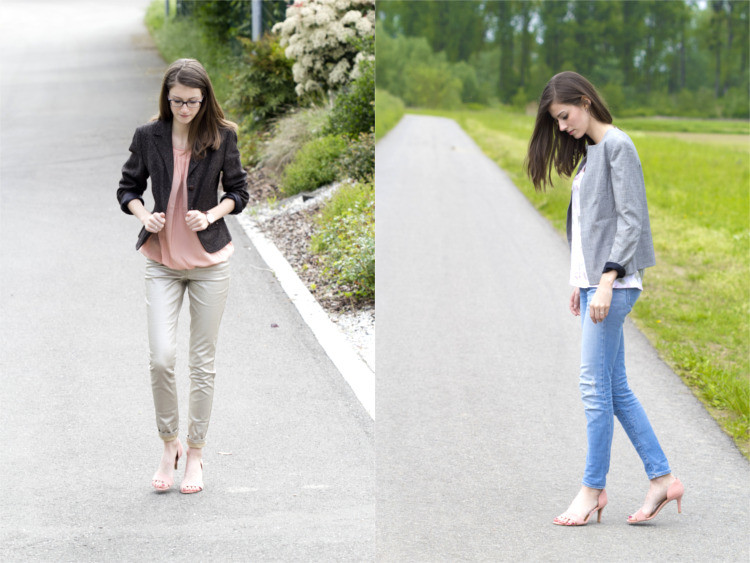 Second Hand Blazer Sommer Outfits