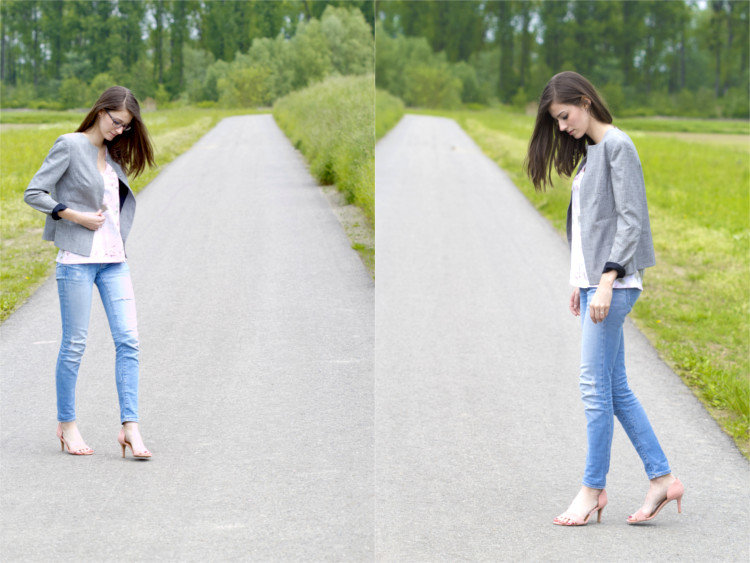 Second Hand Blazer Sommer Outfit 2