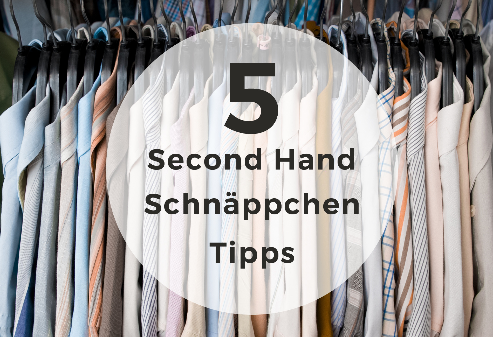 5 Tipps für Second Hand Schnäppchen