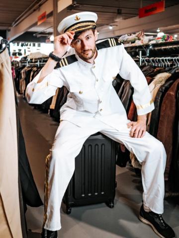 Fasching Kostüm Kapitän Pilot