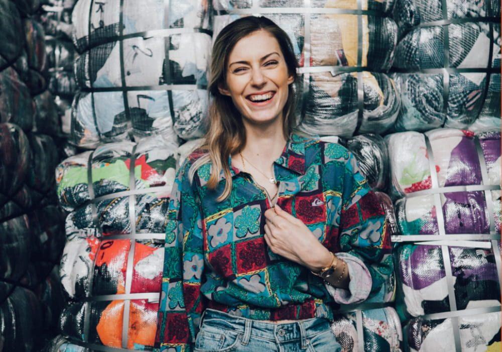Modedesignerin Lea